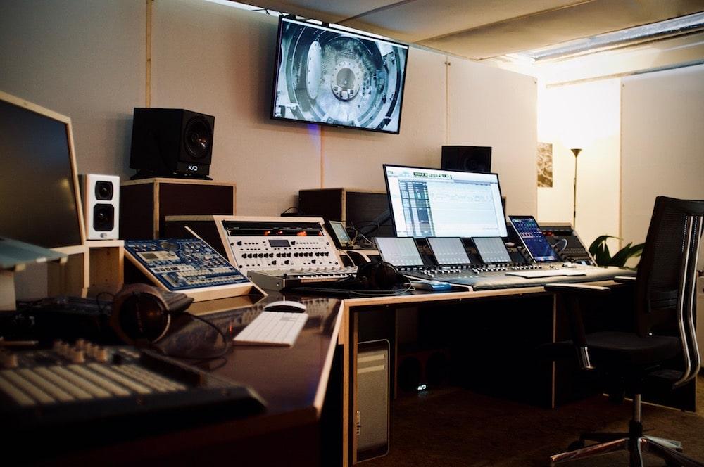 Tonstudio für die Audio Postproduktion