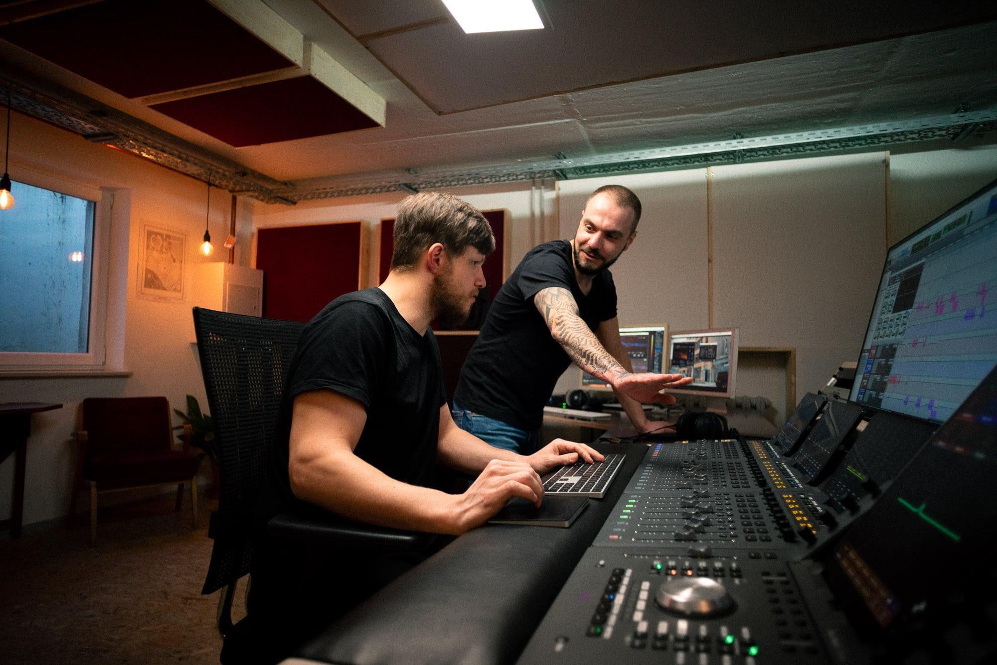 Tonstudio Leipzig