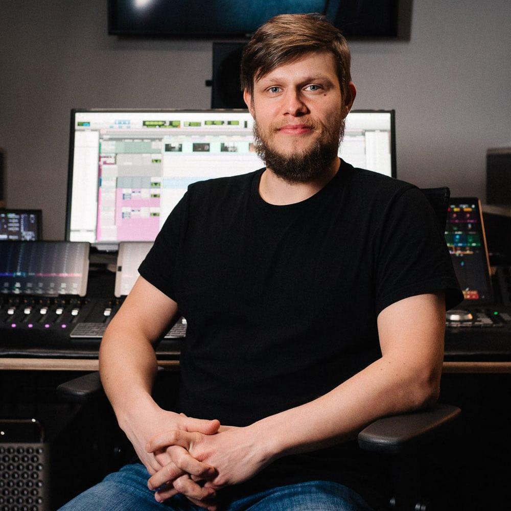Sound Designer Konrad Deissner